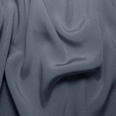 Silk Crepe Back Satin Blue Gray