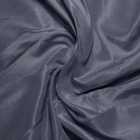 Silk Habotai Blue Gray