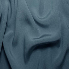 Silk Crepe Back Satin Blue Lagoon