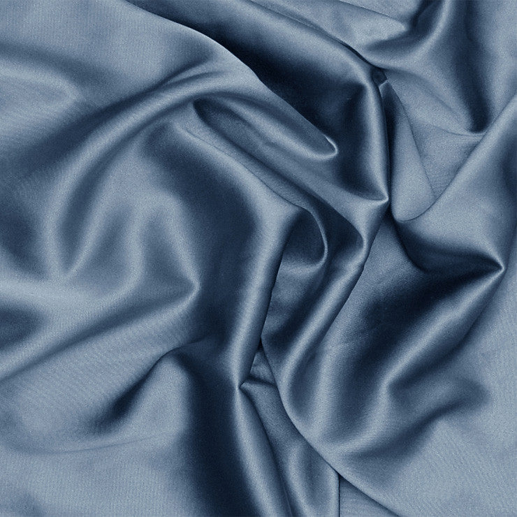 Silk Stretch Charmeuse Blue Lagoon