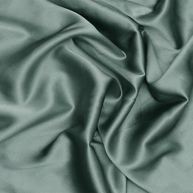 Silk Charmeuse Marine Blue