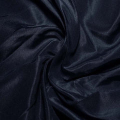 Silk Habotai Dark Blue