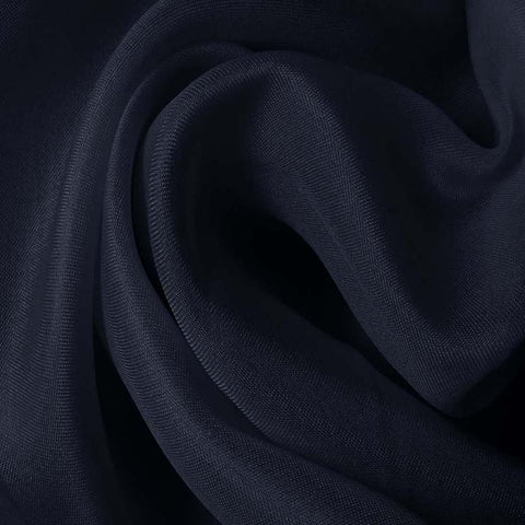 Silk Satin Face Organza Dark Blue