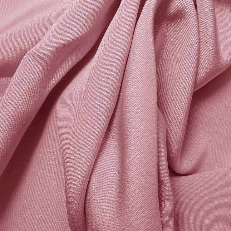 Silk 4 Ply Woven Crepe Chalk Pink