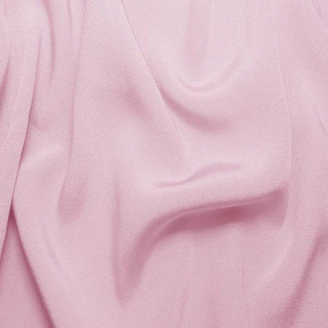 Silk Crepe Back Satin Chalk Pink