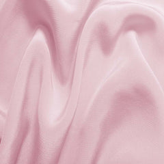 Silk Crepe de Chine Chalk Pink