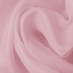 Silk Satin Face Organza Chalk Pink