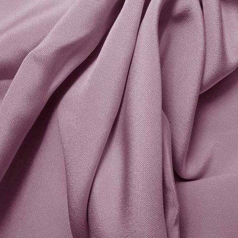 Silk 4 Ply Woven Crepe Lilac
