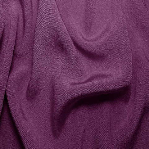 Silk Crepe Back Satin Violet