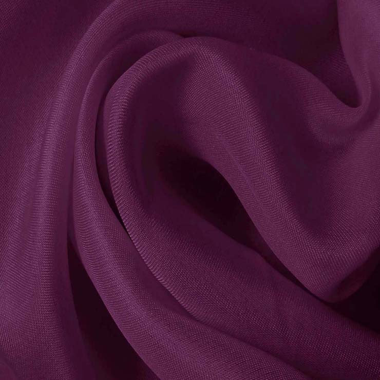 Silk Satin Face Organza Violet