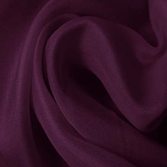Silk Satin Face Organza Grape Purple