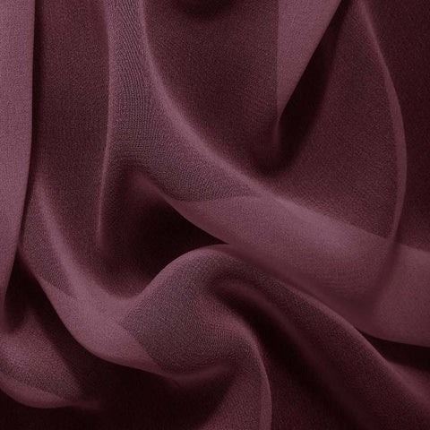 Silk Chiffon Grape Purple