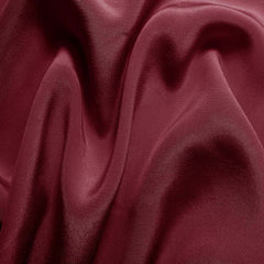 Silk Crepe de Chine Dark Rose