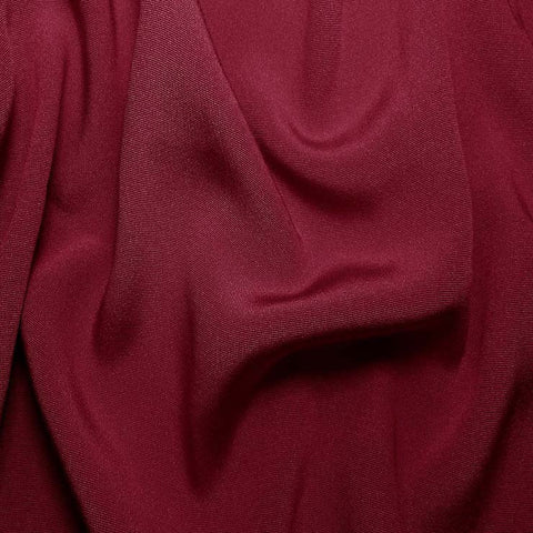 Silk Crepe Back Satin Dark Rose