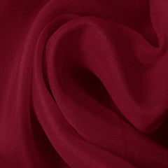 Silk Satin Face Organza Dark Rose
