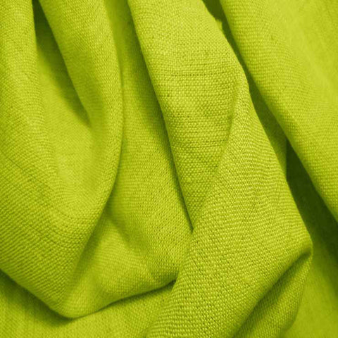 Medium Weight Linen - 6.5-oz 26 Lime - NY Fashion Center Fabrics