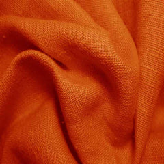 Heavyweight Linen 26 Rust - NY Fashion Center Fabrics