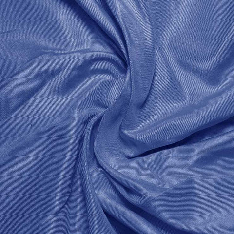 Silk Habotai Polo Blue
