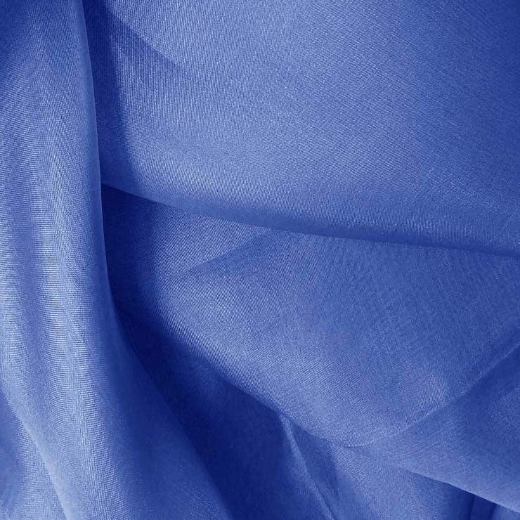 Silk Organza Polo Blue