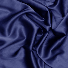 Silk Stretch Charmeuse Blue Jewel