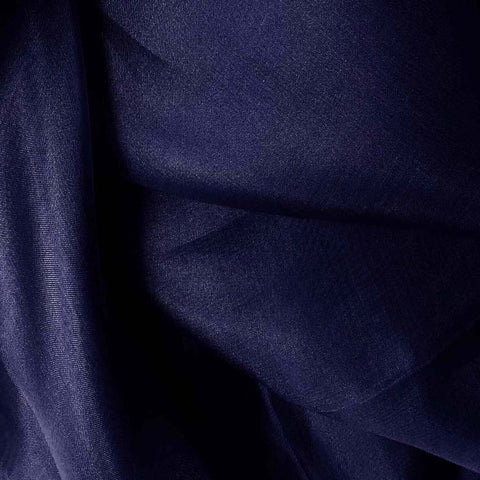 Silk Organza Blue Jewel