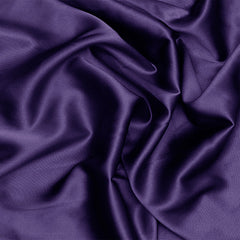 Silk Stretch Charmeuse Dark Purple