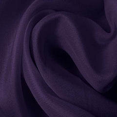 Silk Satin Face Organza Dark Purple