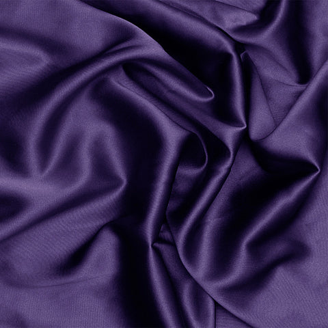 Silk Charmeuse Dark Purple