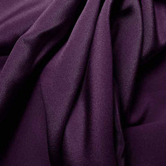 Silk 4 Ply Woven Crepe Dark Purple