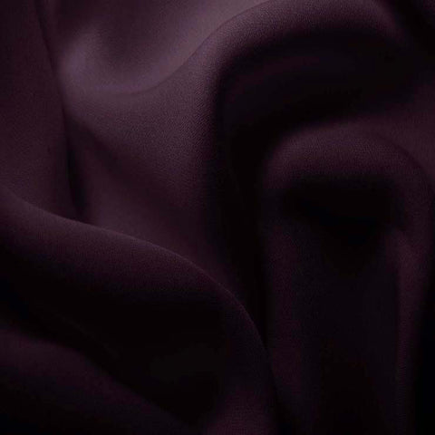 Silk Double Georgette Dark Purple