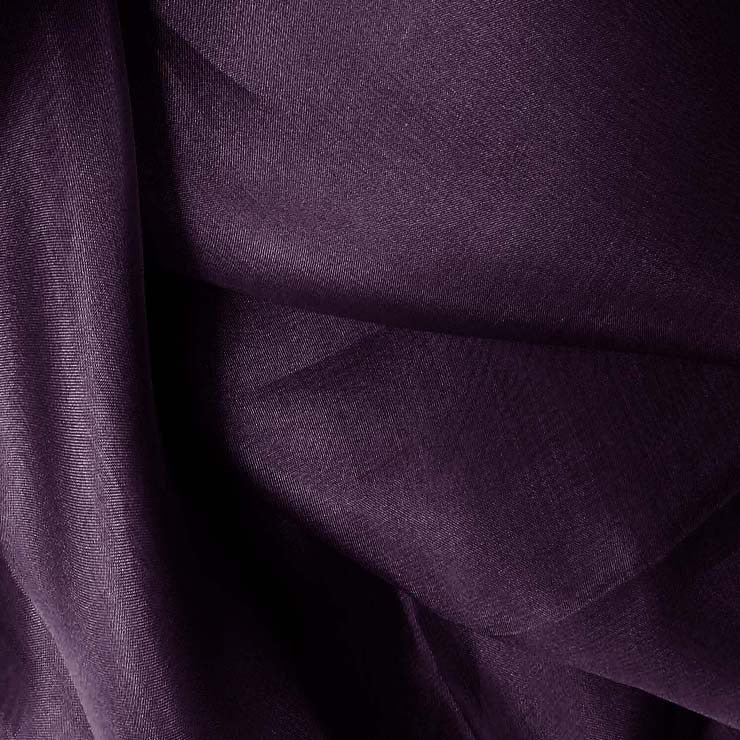 Silk Organza Dark Purple
