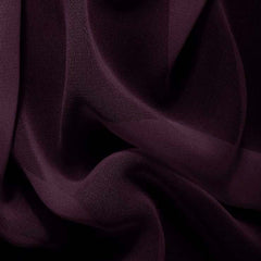 Silk Chiffon Dark Purple