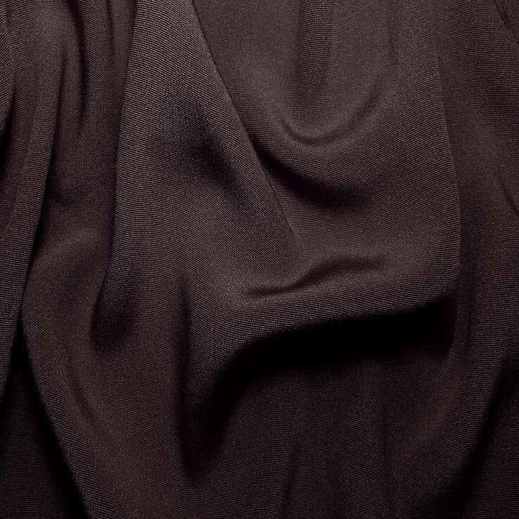 Silk Crepe Back Satin Dark Plum