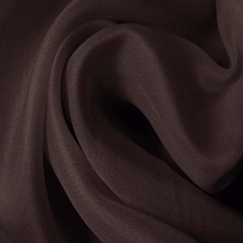 Silk Satin Face Organza Dark Plum
