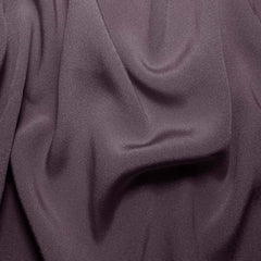 Silk Crepe Back Satin Lavender Gray