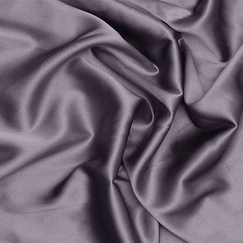 Silk Charmeuse Lavender Gray
