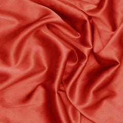 Silk Charmeuse Cayenne Red