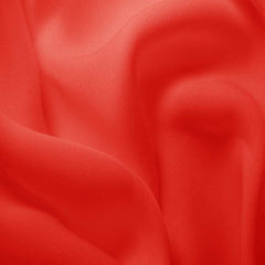 Silk Double Georgette Cayenne Red