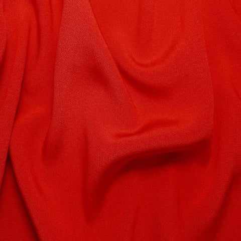 Silk Crepe Back Satin Blood Orange