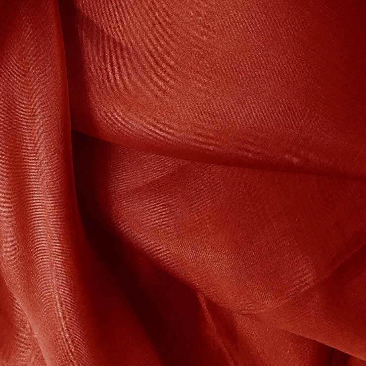 Silk Organza Crimson Red