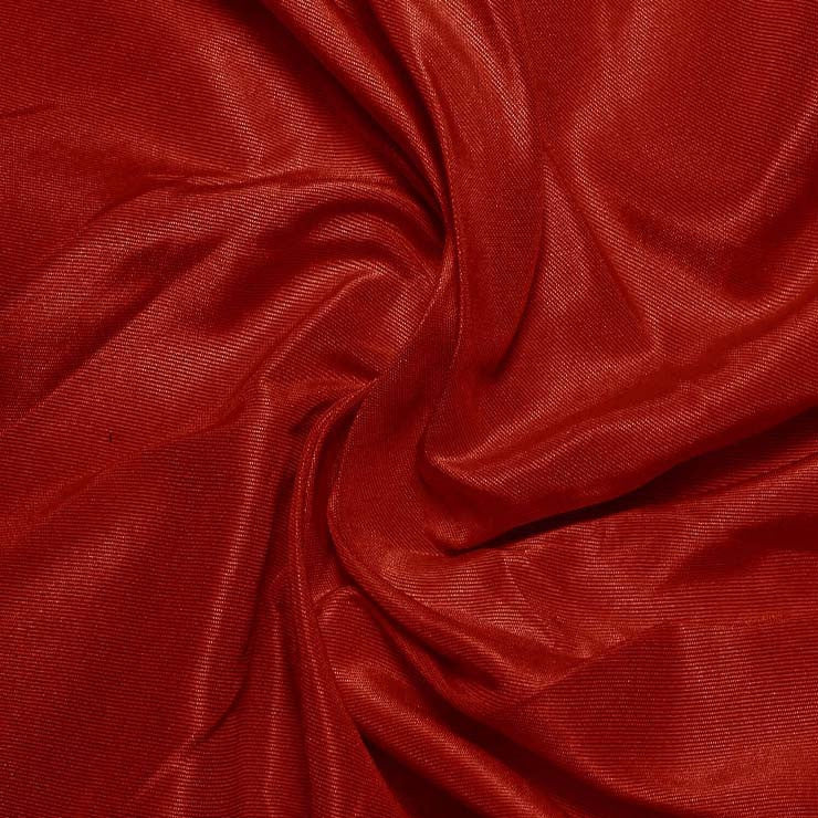 Silk Habotai Crimson Red