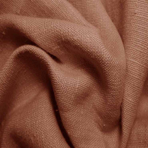 Heavyweight Linen 27 Brown - NY Fashion Center Fabrics