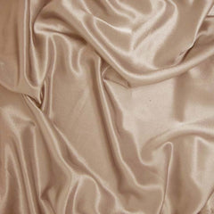 Polyester Crepe Back Satin 27 Tan