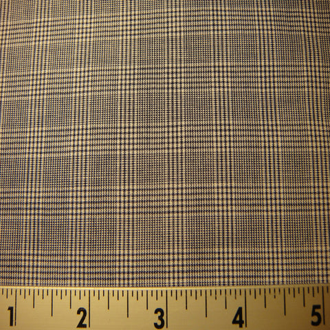100% Cotton Plaids Fabric 27 Y D5303NVY - NY Fashion Center Fabrics