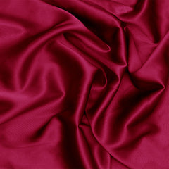 Silk Charmeuse Garnet Red