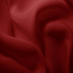 Silk Double Georgette Garnet Red