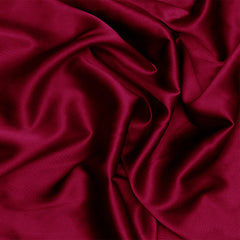 Silk Charmeuse Burgundy
