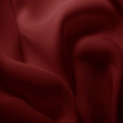 Silk Double Georgette Burgundy