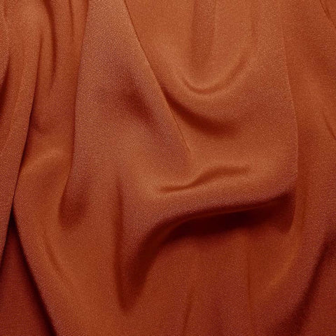 Silk Crepe Back Satin Copper