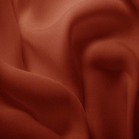 Silk Double Georgette Copper